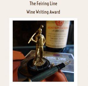 The Feiring Line Wine Writing Award
