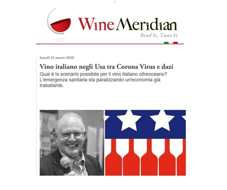 Interview by Wine Meridian (Italy) published Mar. 23, 2020